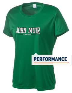 John Muir Elementary School Trees Women's Competitor Performance T-Shirt