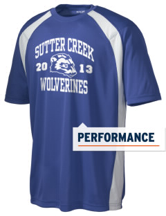 Sutter Creek Elementary School Wolverines Men's Dry Zone Colorblock T-Shirt