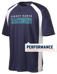 Forest Ranch Elementary School Raccoons Men's Dry Zone Colorblock T-Shirt