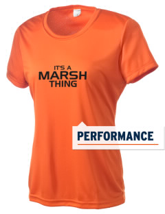 Marsh Elementary School Tigers Women's Competitor Performance T-Shirt