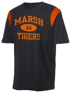 Marsh Elementary School Tigers Holloway Men's Rush T-Shirt