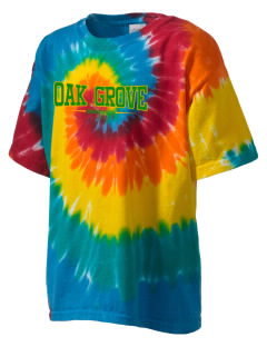 Oak Grove Middle School Braves Kid's Tie-Dye T-Shirt
