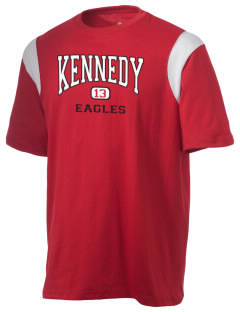 Kennedy High School Eagles Holloway Men's Rush T-Shirt