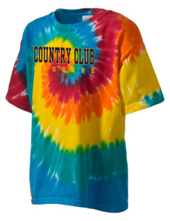 Country Club Elementary School Cougars Kid's Tie-Dye T-Shirt