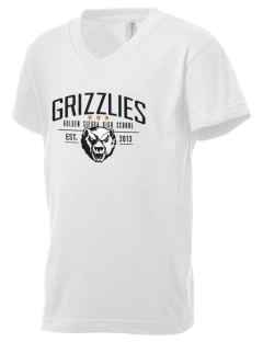 Golden Sierra High School Grizzlies Kid's V-Neck Jersey T-Shirt