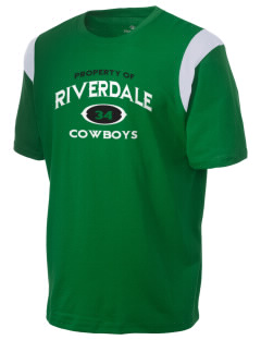 Riverdale High School Cowboys Holloway Men's Rush T-Shirt
