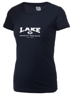 Lake Elementary School Panthers  Russell Women's Campus T-Shirt
