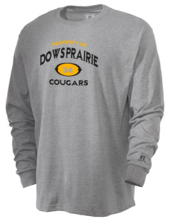Dows Prairie Elementary School Cougars  Russell Men's Long Sleeve T-Shirt