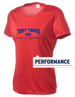 Toddy Thomas Elementary School Hornets Women's Competitor Performance T-Shirt