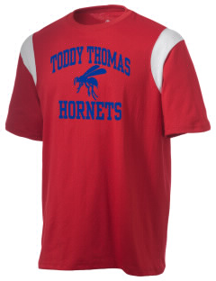 Toddy Thomas Elementary School Hornets Holloway Men's Rush T-Shirt