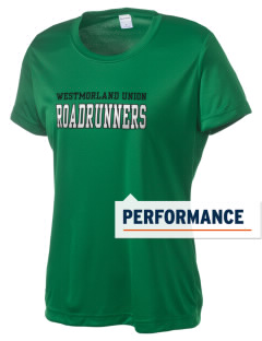 Westmorland Union Elementary School Roadrunners Women's Competitor Performance T-Shirt