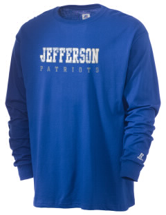 Jefferson Elementary School Patriots  Russell Men's Long Sleeve T-Shirt