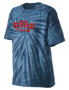 Mojave High School Mustangs Kid's Tie-Dye T-Shirt