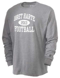 Bret Harte Elementary School Bears  Russell Men's Long Sleeve T-Shirt