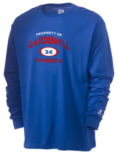 Gardenhill Elementary School Patriots  Russell Men's Long Sleeve T-Shirt
