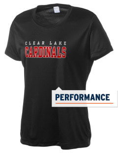 Clear Lake High School Cardinals Women's Competitor Performance T-Shirt
