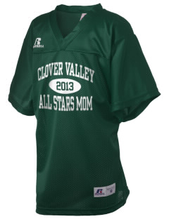 Clover Valley High School All Stars Russell Kid's Replica Football Jersey