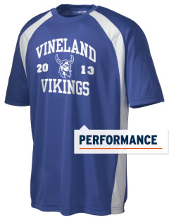 Vineland Elementary School Vikings Men's Dry Zone Colorblock T-Shirt