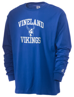 Vineland Elementary School Vikings  Russell Men's Long Sleeve T-Shirt