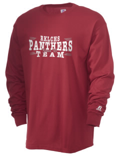 R K Lloyde Continuation High School Panthers  Russell Men's Long Sleeve T-Shirt