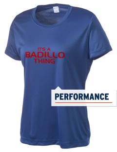 Badillo Elementary School Panthers Women's Competitor Performance T-Shirt