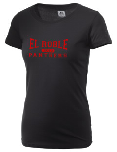 El Roble Intermediate School Panthers  Russell Women's Campus T-Shirt