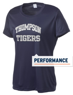 Thompson Elementary School Tigers Women's Competitor Performance T-Shirt