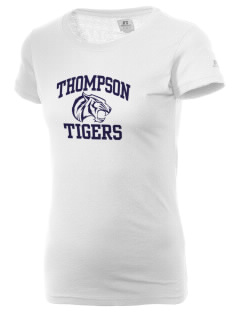 Thompson Elementary School Tigers  Russell Women's Campus T-Shirt