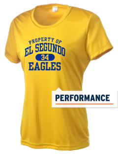 El Segundo High School Eagles Women's Competitor Performance T-Shirt