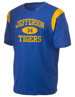 Jefferson Elementary School Tigers Holloway Men's Rush T-Shirt