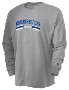 Valley Alternative Schools Knights/Eagles  Russell Men's Long Sleeve T-Shirt