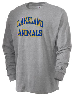 Lakeland Elementary School Animals  Russell Men's Long Sleeve T-Shirt