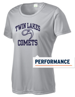 Twin Lakes Elementary School Comets Women's Competitor Performance T-Shirt