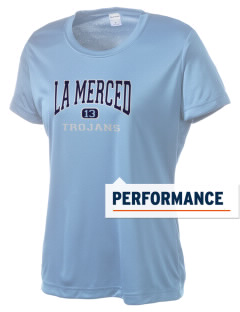 La Merced Intermediate School Trojans Women's Competitor Performance T-Shirt