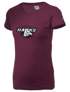 Arlie Hutchinson Middle School Hawks  Russell Women's Campus T-Shirt