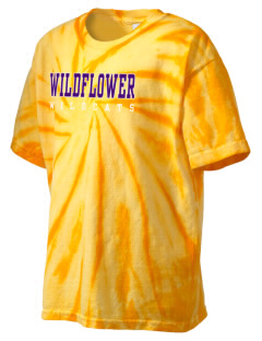 Wildflower Elementary School Wildcats Kid's Tie-Dye T-Shirt