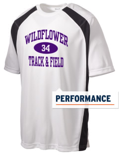 Wildflower Elementary School Wildcats Men's Dry Zone Colorblock T-Shirt