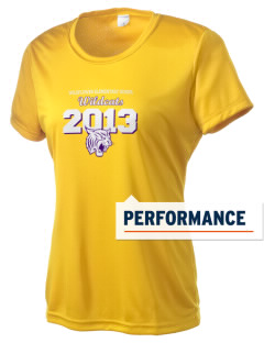 Wildflower Elementary School Wildcats Women's Competitor Performance T-Shirt