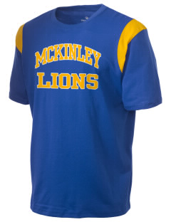 McKinley Elementary School Lions Holloway Men's Rush T-Shirt