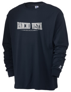 Rancho Vista Elementary School Rockets  Russell Men's Long Sleeve T-Shirt