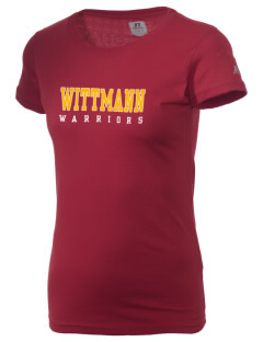 Wittmann Elementary School Warriors  Russell Women's Campus T-Shirt