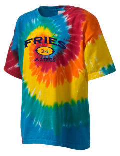 Fries Elementary School Aztecs Kid's Tie-Dye T-Shirt