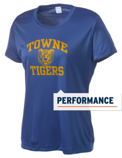 Towne Elementary School Tigers Women's Competitor Performance T-Shirt
