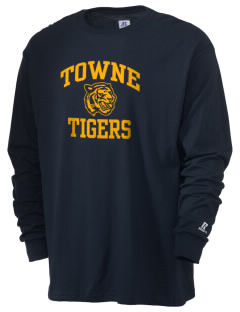 Towne Elementary School Tigers  Russell Men's Long Sleeve T-Shirt