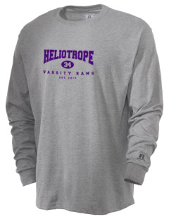 Heliotrope Elementary School Rams  Russell Men's Long Sleeve T-Shirt