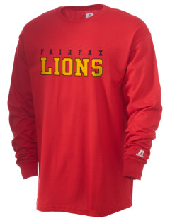Fairfax High School Lions  Russell Men's Long Sleeve T-Shirt
