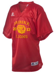 Fairfax High School Lions Russell Kid's Replica Football Jersey