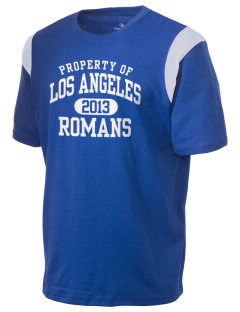 Los Angeles High School Romans Holloway Men's Rush T-Shirt