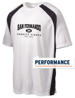 San Fernando High School Tigers Men's Dry Zone Colorblock T-Shirt