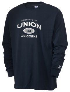 Union Elementary School Unicorns  Russell Men's Long Sleeve T-Shirt